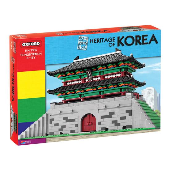 옥스포드 KH-3365 한국문화유산 숭례문